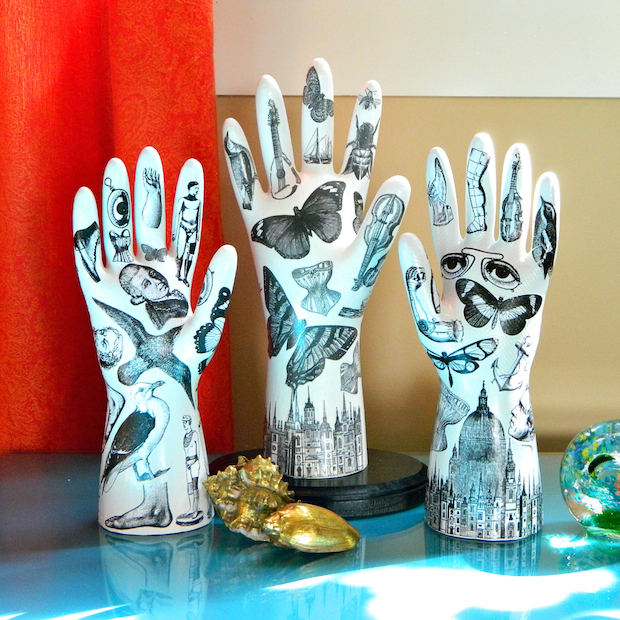 How-To: Fornasetti-Inspired Tattooed Plaster Hands