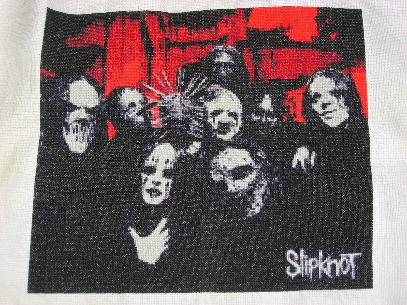 Slipknot Embroidery Sampler