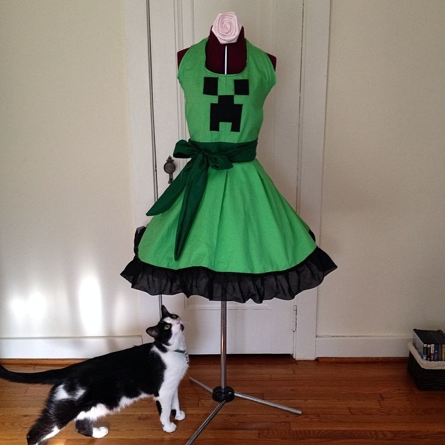 The Wild Bunny's Custom-Made Aprons for Geeky Recipes