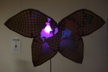 """This lamp """"visualizes the ephemeral phenomena known as double rainbows by mapping geo-tagged photos posted to Instagram in the previous 24 hours."""""""