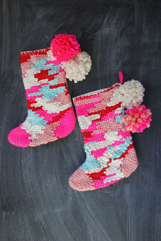 How-To: DIY Woven Stocking