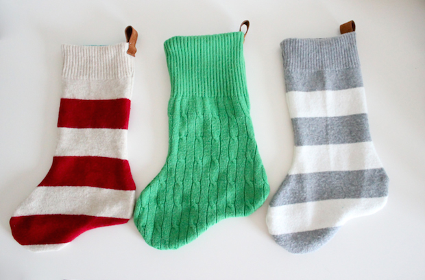 How-To: Simple Sweater Stockings