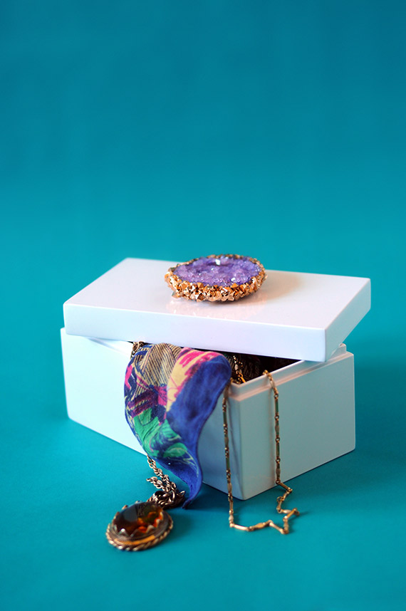 How-To: Crystal-Topped Jewelry Box