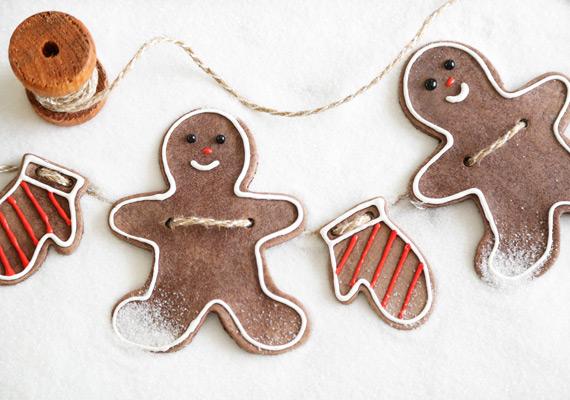 How-To: Gingerbread Salt Dough Ornaments
