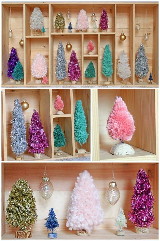 How-To: Handmade Bottle Brush Trees