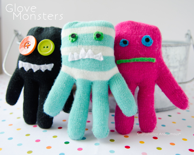 How-To: Make a Glove Monster