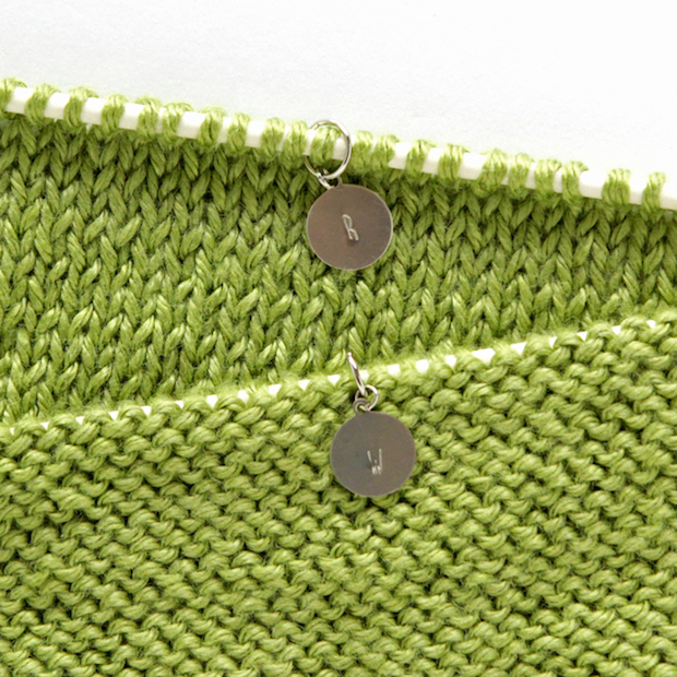 How-To: Metal Stamped Stitch Markers