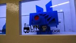 Trobok creature... which is also a Raspberry Pi case.