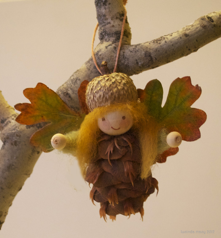 How-To: Pine Cone Fairy Ornament