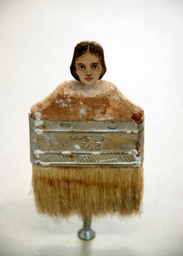 Rebecca Szeto's Paintbrush Portraits