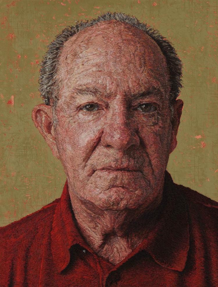 The Making of Cayce Zavaglia's Amazingly Realistic Embroidered Portraits