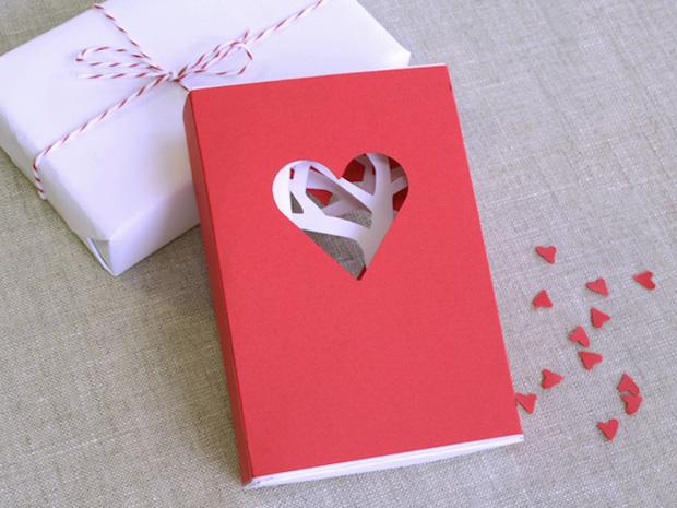 Flashback: Valentine's Day Matchbook Card