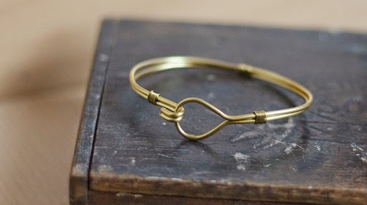 How-To: Brass Wire Bangle Bracelet | Make: