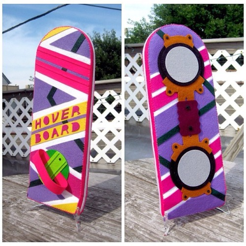 'Back To The Future' Hover Board in Felt
