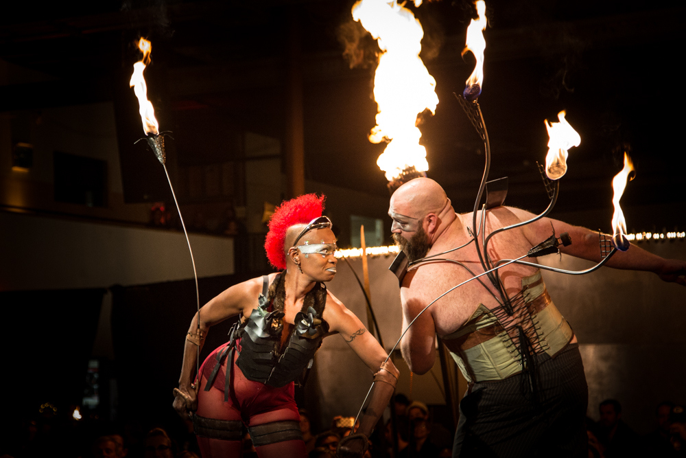 DIY Fashion Show Sets the Runway on Fire — Literally