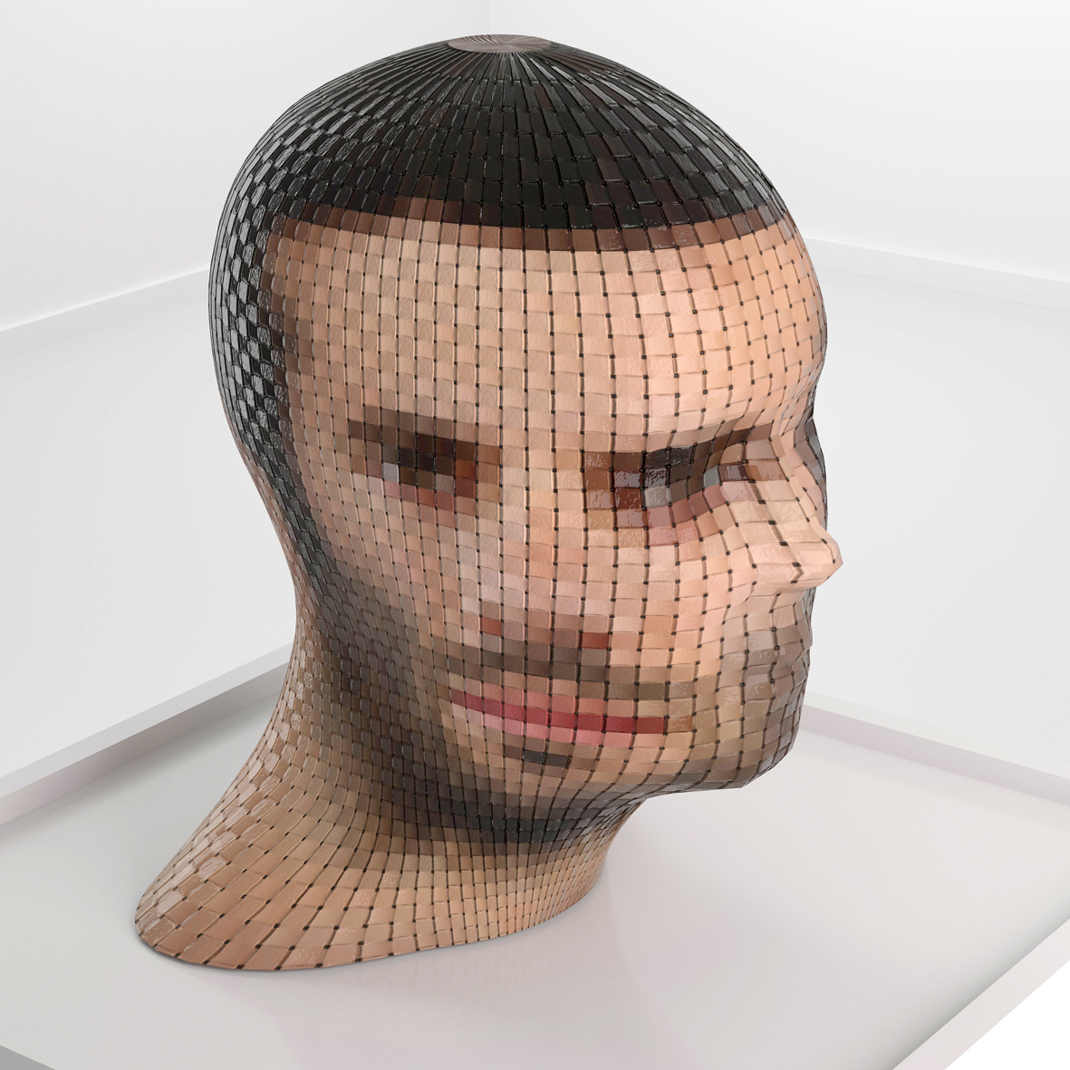 Head-Twisting Woven Sculptures Put a New Face on Art