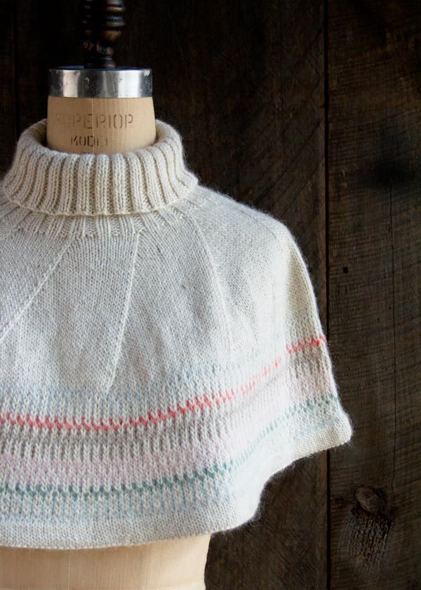How-To: Northern Lights Capelet