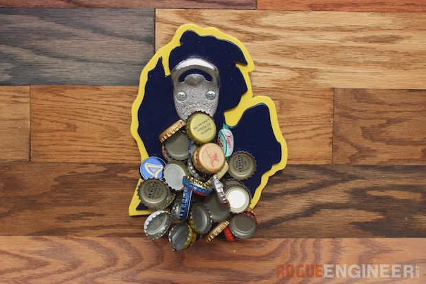 How-To: Magnetic Bottle Opener