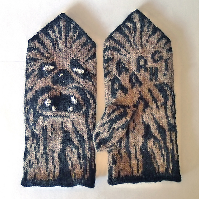 Therese Sharp's Geeky Mitten Knitting Patterns