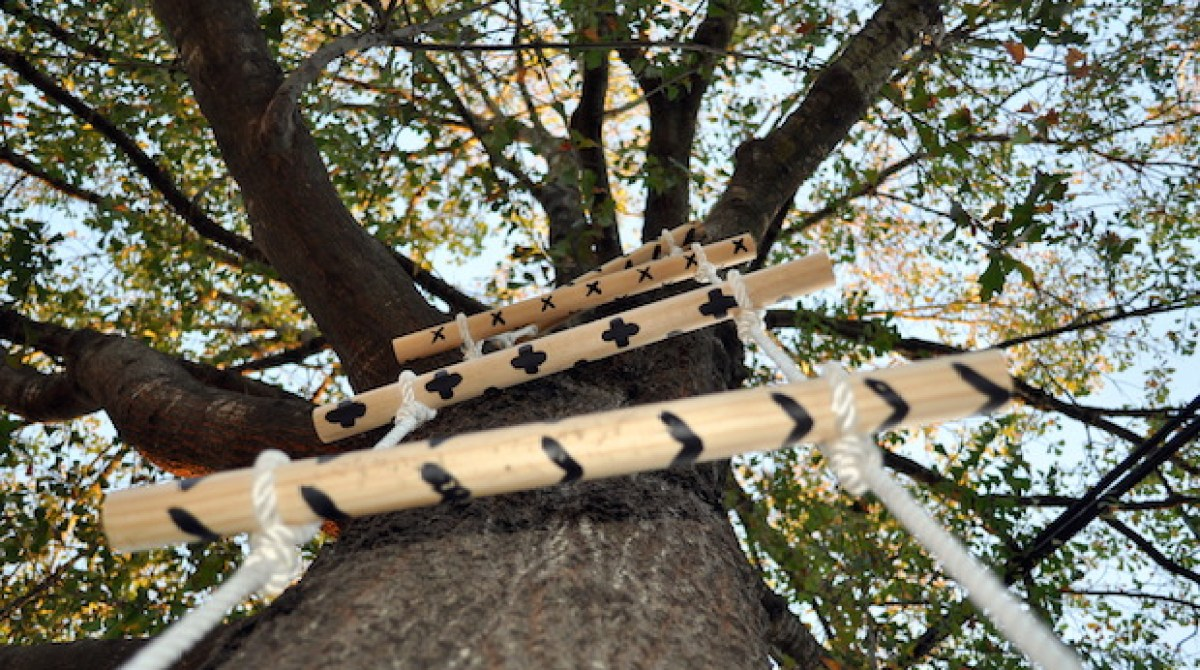How-To: Rope and Wood Tree Ladder