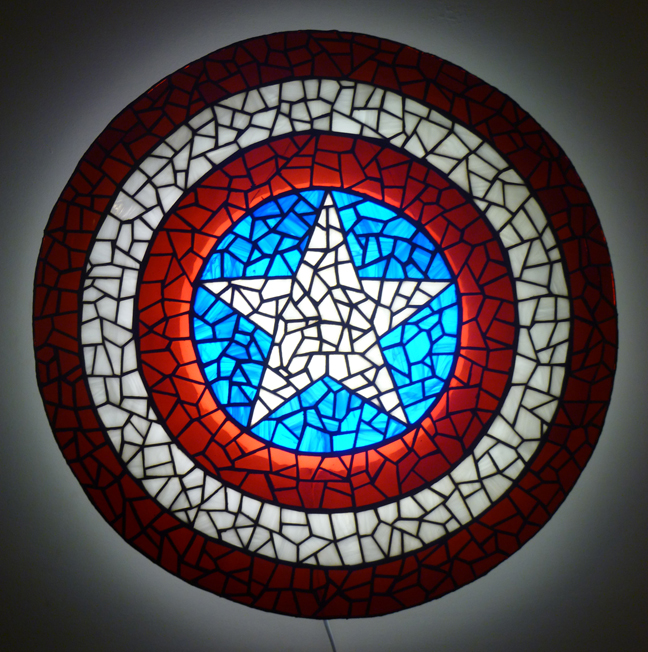 Iron Man, Optimus Prime, and More Become Tiffany Glass Lamp Legends
