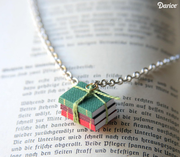How-To: Book Lover's Necklace