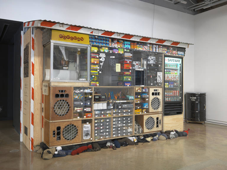 The Bizarre Working Boombox Creations Of Tom Sachs