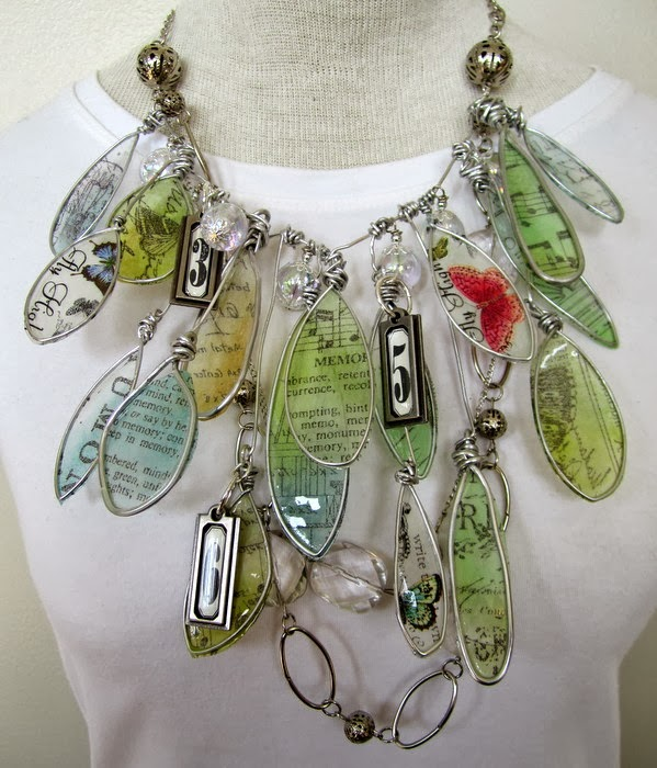Faux Stained Glass Jewelry