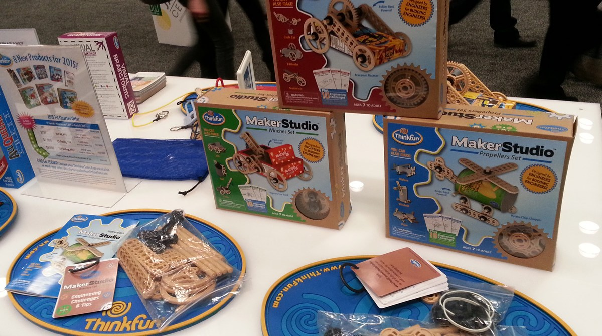 Build Your Own Toys with ThinkFun's Maker Studio