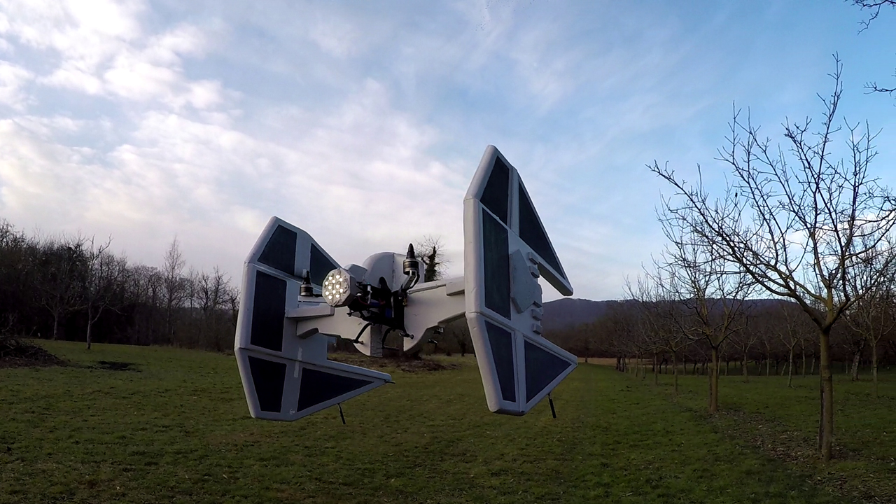 TIE Fighter Drone Mod is Coolest Since Millenium Falcon