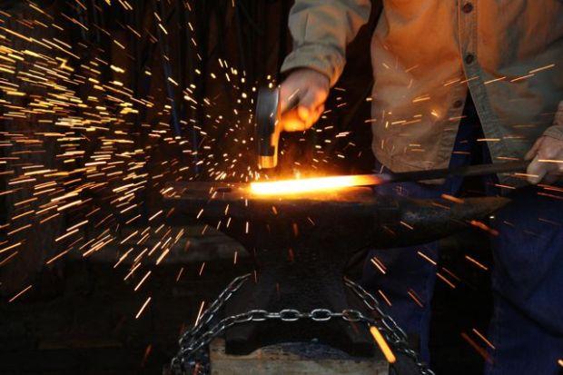 Blacksmithing Everest Gromoll