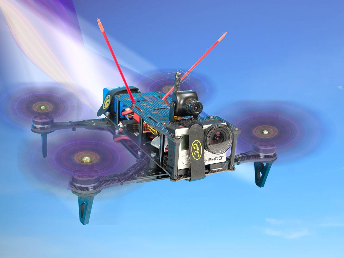 Hovership 3d Printed Racing Drone Make Kk2 1 Wiring Diagram Mini