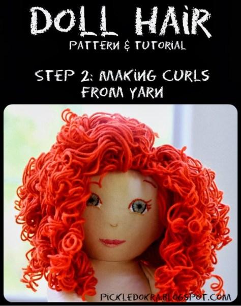 Doll Hair Step 2