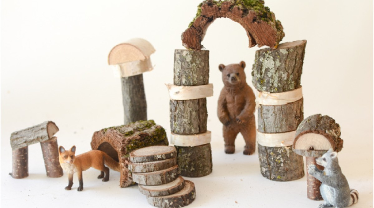 Twigs Into Toys Build Your Own Rustic Building Blocks Make