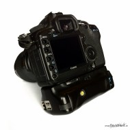 PiSLR Limerick area photographer and camera hacker, Dave Hunt, has managed to squeeze a Raspberry Pi SBC inside a detachable battery grip for his Canon 5D Mark II DSLR camera. He's got it working over WiFi via a dongle and wrote a Perl script to push images to his iPad for easy viewing.