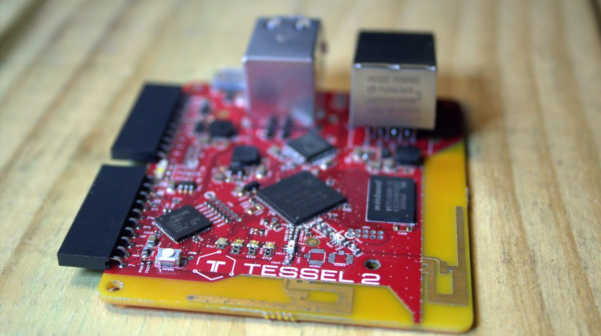 First Look: Tessel 2 Embeds Node.js in Your Project for 35 Bucks