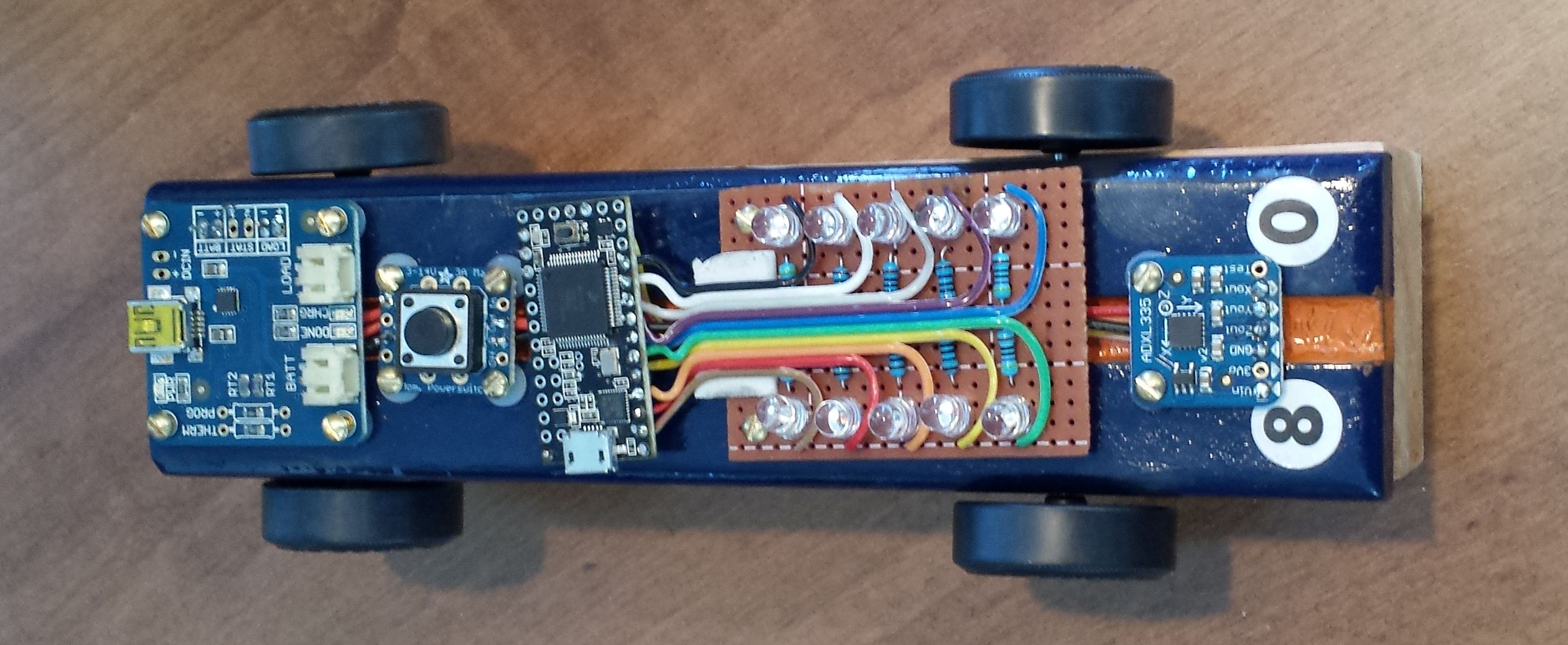 Arduino Powered Pinewood Derby Race Car Make Trim Limit Switch Wiring Diagram Figure 2 The