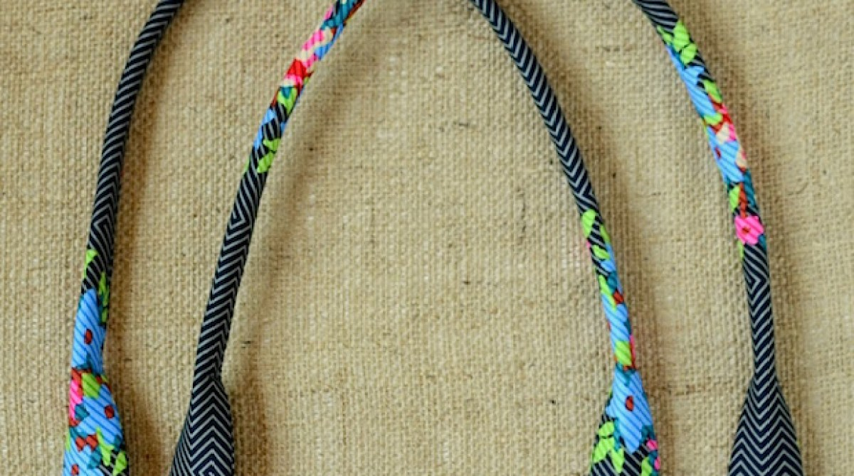 Make Your Own Perfect Fabric Purse Handles