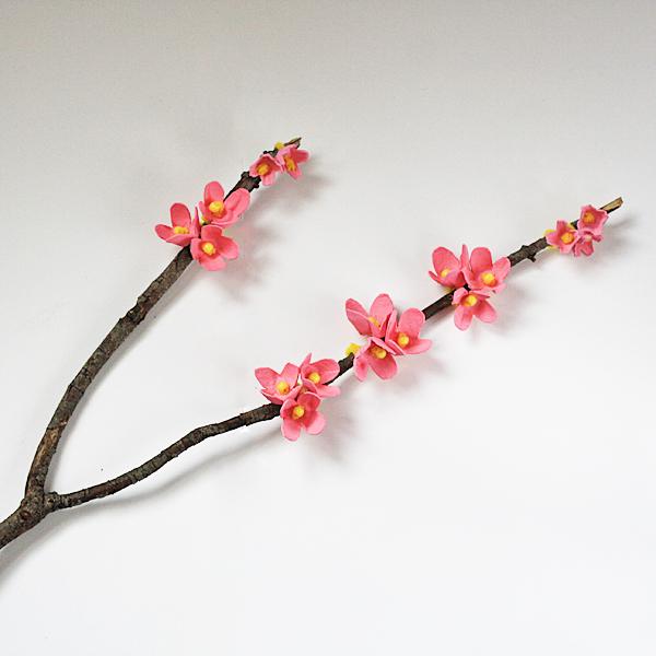 How-To: Egg Carton Cherry Blossom Branch