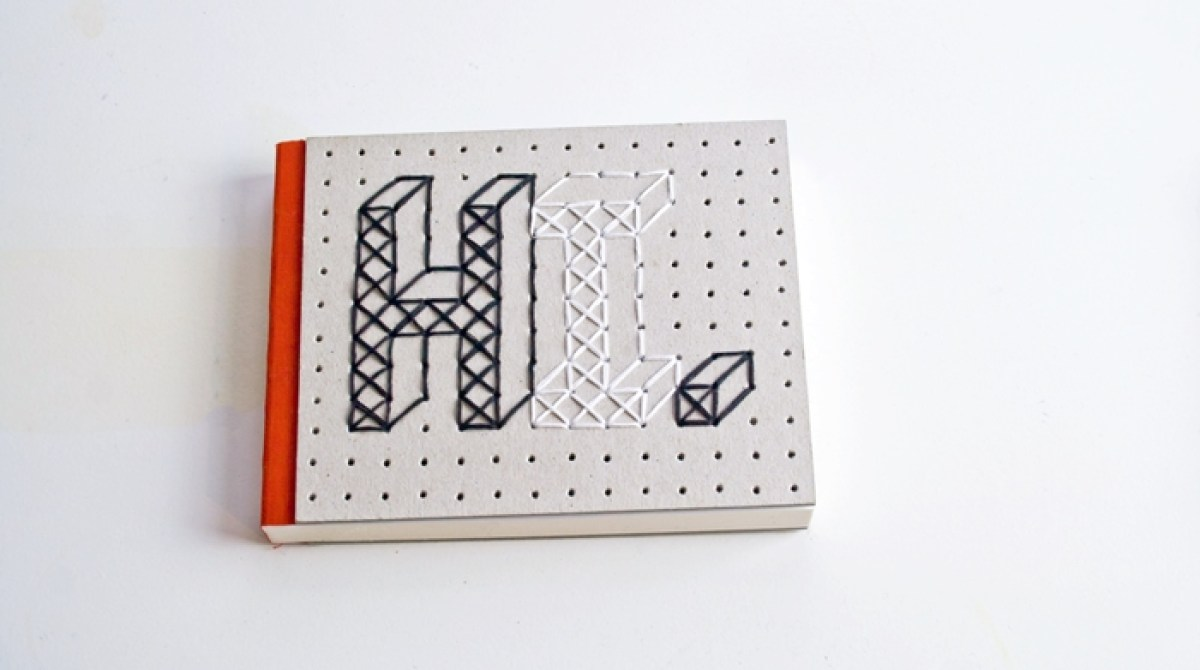 Love Your Project Pad: Stitch a Custom Embroidered Notebook Cover