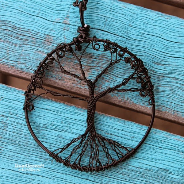 DIY Jewelry: Wire-Wrapped Tree of Life Pendant