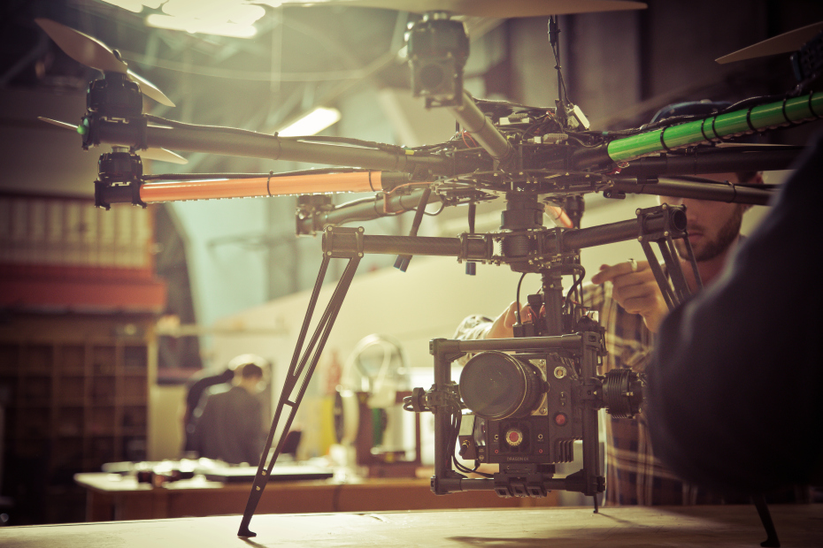 Behind the Scenes: Drone Dudes' Awesome Cinema-Grade Octocopter
