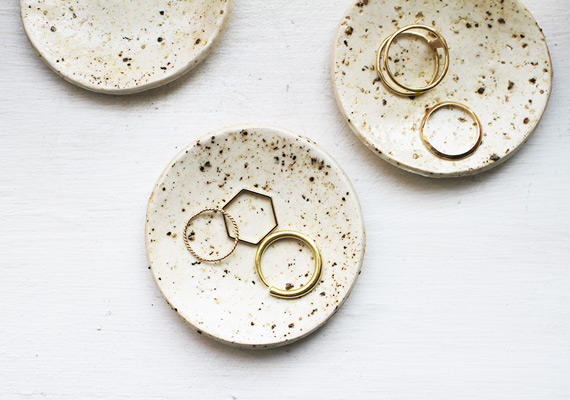 Make Polymer Clay Ring Dishes That Look Like Real Pottery