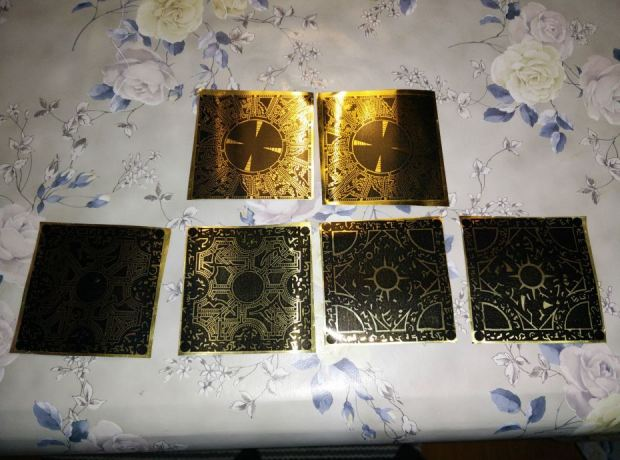 Robin used a laser printer to produce the etching stencils, which was critical for the etching process to work.