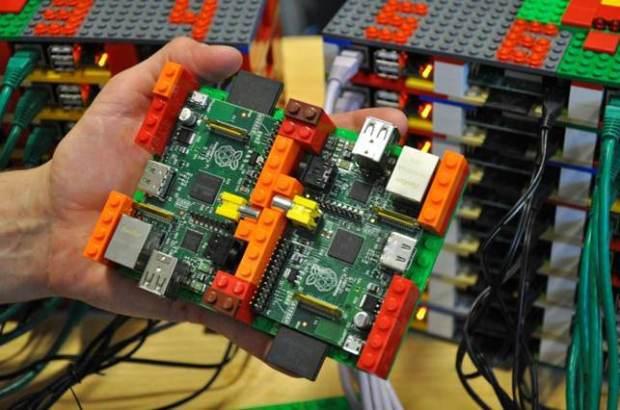 The University of Southampton's Iridis-Pi compute cluster.