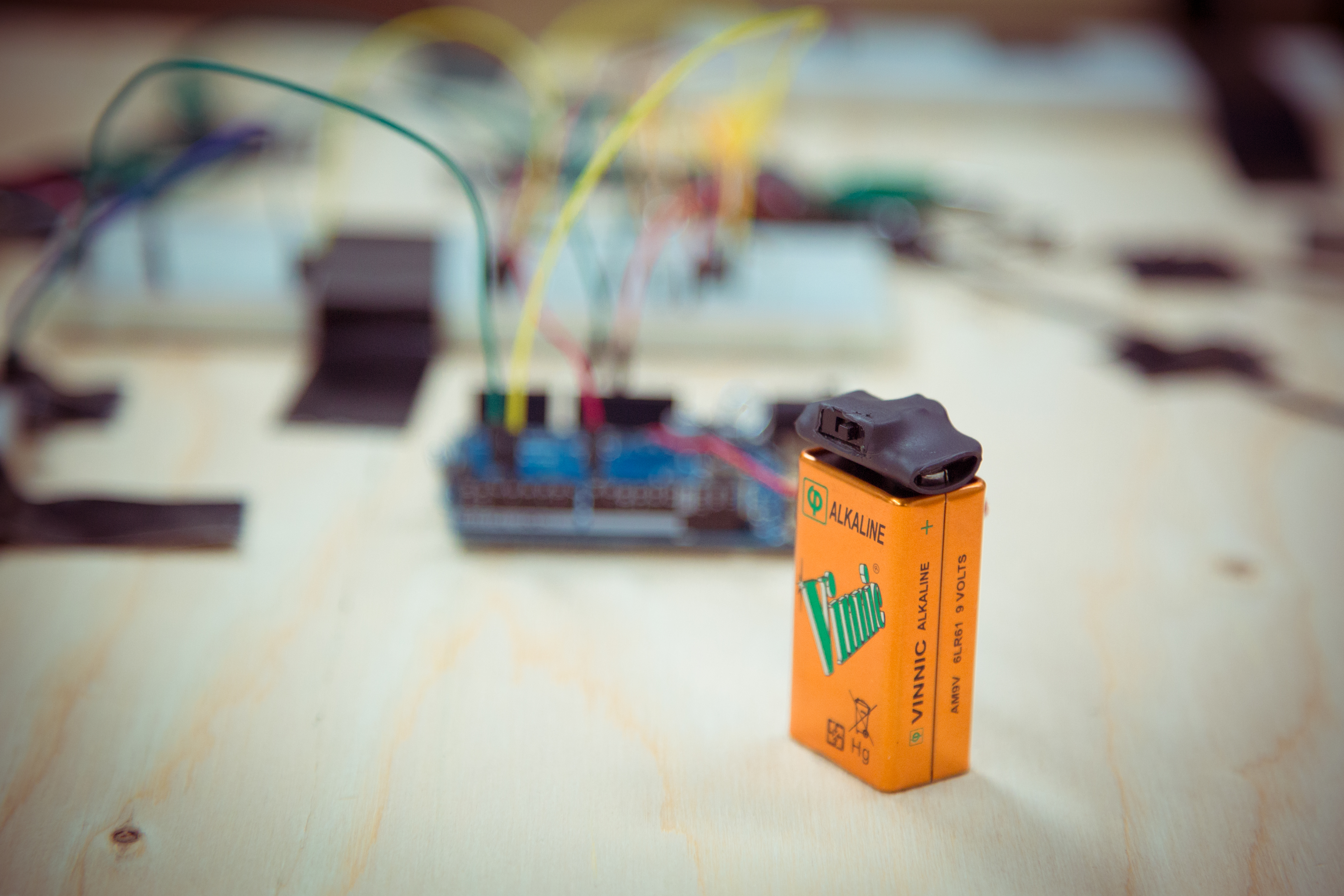 Put a Tiny Power Switch on Your 9V Battery Clip