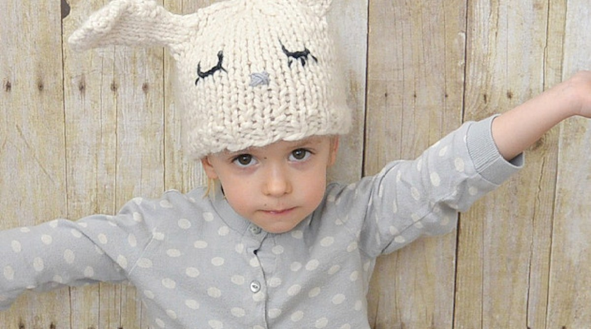 Kid Knits: Knit Toddler Bunny Hat