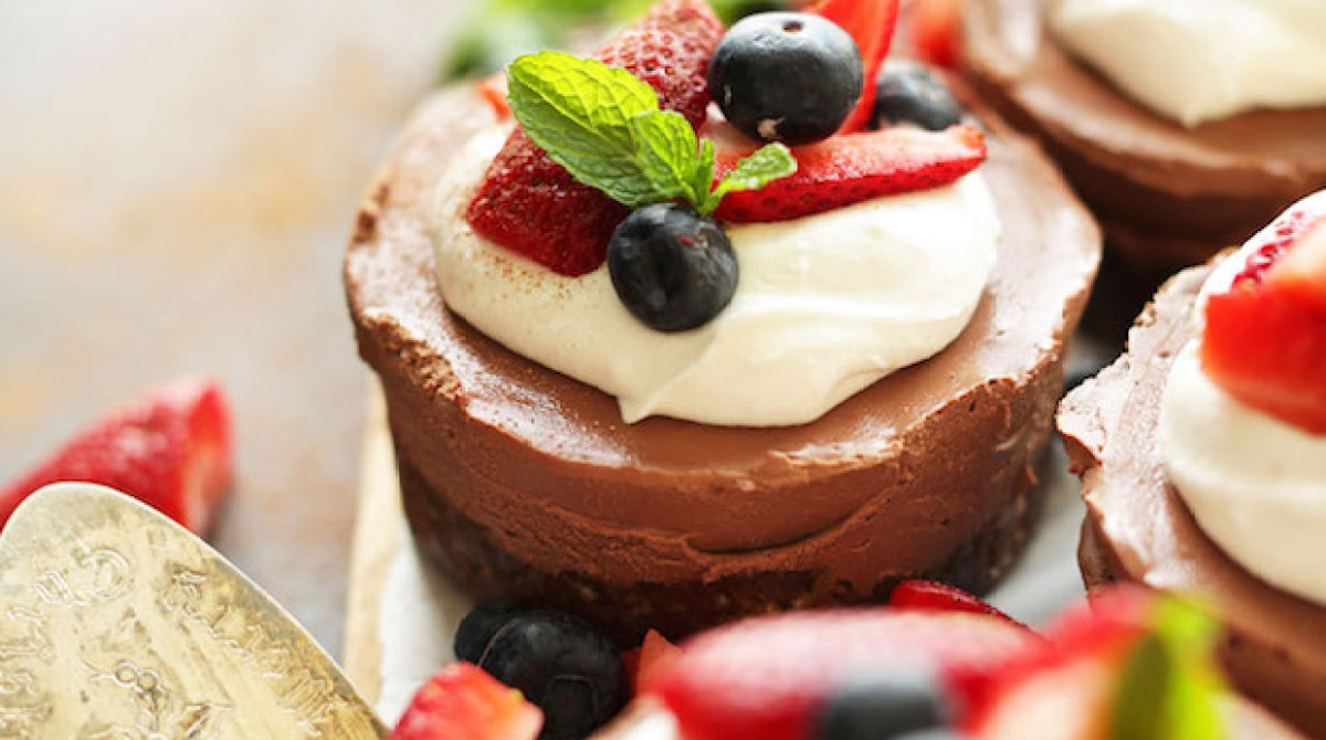 Recipe: Vegan No Bake Chocolate Cheesecake