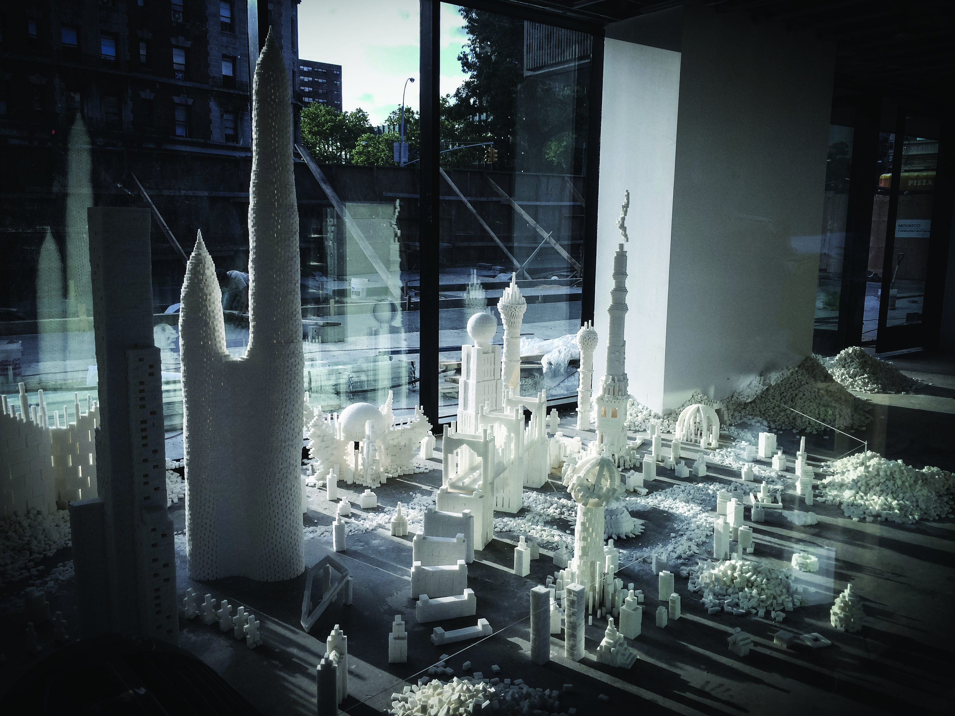 Artists Sculpt Sweet Cityscapes out of Sugar Cubes