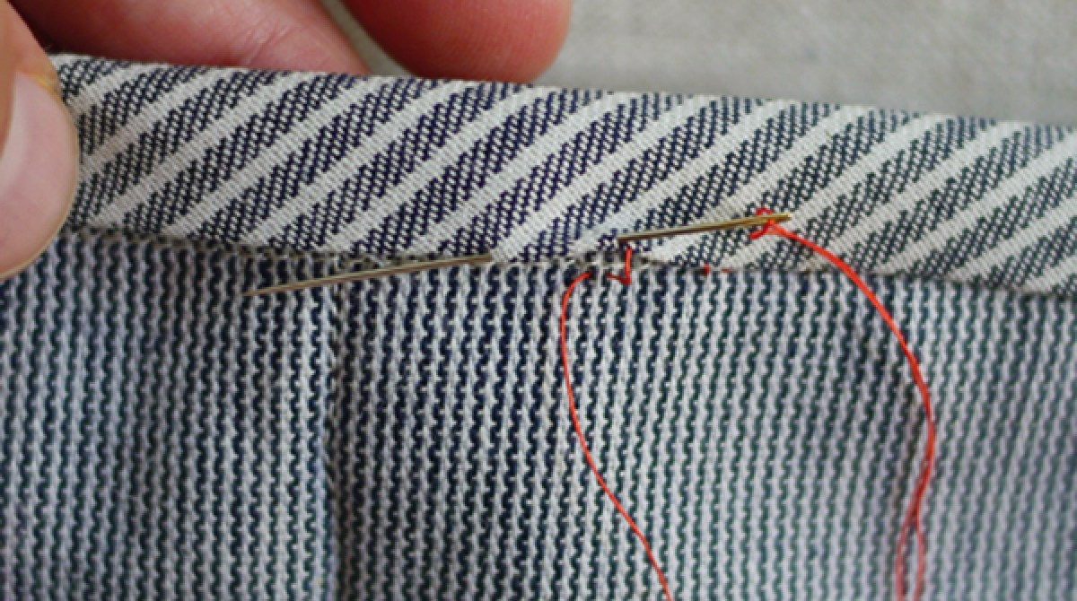 Quilting Basics: Slip Stitch for Quilt Bindings and Hems